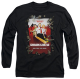 Long Sleeve: Shaun Of The Dead - Poster T-shirts