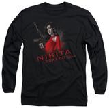 Long Sleeve: Nikita - Looks Do Kill T-shirts