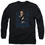Long Sleeve: Elvis Presley - Icon T-Shirt
