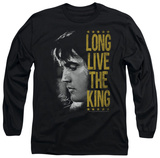 Long Sleeve: Elvis Presley - Long Live The King Shirt