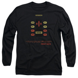 Long Sleeve: Knight Rider - Kitt Consol T-Shirt