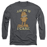 Long Sleeve: Garfield - Ask Me T-shirts