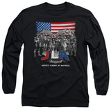 Long Sleeve: Justice League - All American League Long Sleeves