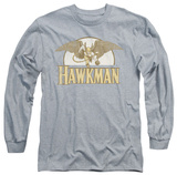 Long Sleeve: Hawkman - Fly By T-Shirt