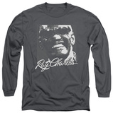 Long Sleeve: Ray Charles - Signature Glasses T-Shirt