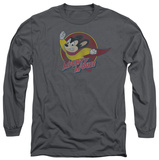 Long Sleeve: Mighty Mouse - Mighty Circle T-shirts