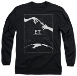 Long Sleeve: E.T. - Simple Poster T-shirts