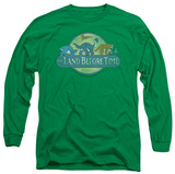 Long Sleeve: Land Before Time - Retro Logo T-shirts