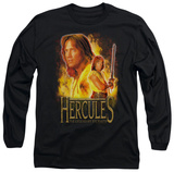 Long Sleeve: Hercules - On Fire T-shirts