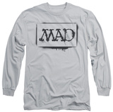 Long Sleeve: Mad Magazine - Stencil Shirt
