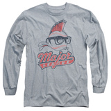 Long Sleeve: Major League - Vintage Logo T-shirts