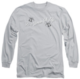 Long Sleeve: It's A Wonderful Life - Logo Shirts