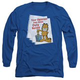 Long Sleeve: Garfield - Duly Noted T-Shirt