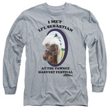 Long Sleeve: Parks & Recreation - Li'l Sebastian T-shirts