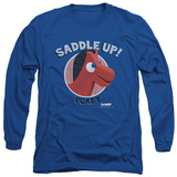 Long Sleeve: Gumby - Saddle Up T-shirts