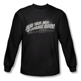 Long Sleeve: Invasion of the Body Snatchers - Men Of Science Shirt