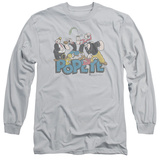 Long Sleeve: Popeye - The Gang Shirts