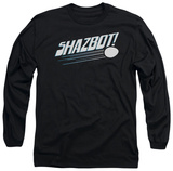 Long Sleeve: Mork & Mindy - Shazbot Egg T-Shirt