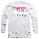 Long Sleeve: Family Ties - Alex For President T-Shirt