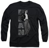Long Sleeve: James Dean - Standing Leather Long Sleeves