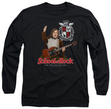 Long Sleeve: School Of Rock - The Teacher Is In Shirt