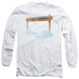 Long Sleeve: Its A Wonderful Life - Bedford Falls T-Shirt