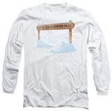Long Sleeve: Its A Wonderful Life - Bedford Falls T-Shirt