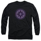 Long Sleeve: Green Lantern - Sapphire Symbol T-shirts