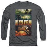 Long Sleeve: Injustice: Gods Among Us - Panels T-shirts