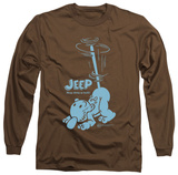 Long Sleeve: Popeye - Trouble T-shirts