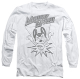 Long Sleeve: Mighty Mouse - Bursting Out T-Shirt