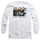 Long Sleeve: Friends - Cast Logo T-Shirt