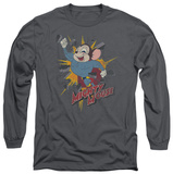 Long Sleeve: Mighty Mouse - Break Through T-Shirt