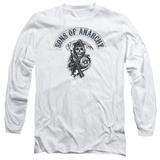 Long Sleeve: Sons Of Anarchy - Bloody Sickle T-Shirt