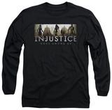 Long Sleeve: Injustice: Gods Among Us - Logo T-shirts
