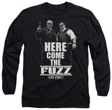 Long Sleeve: Hot Fuzz - Here Come The Fuzz T-shirts