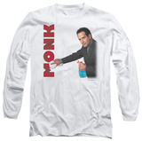 Long Sleeve: Monk - Clean Up T-Shirt