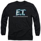 Long Sleeve: E.T. - Logo Shirts