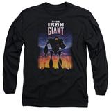 Long Sleeve: Iron Giant - Poster Vêtements