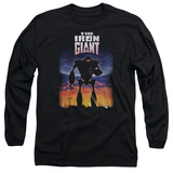 Long Sleeve: Iron Giant - Poster T-shirts