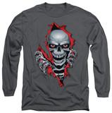 Long Sleeve: Lethal Threat - Ripper Skull Shirts