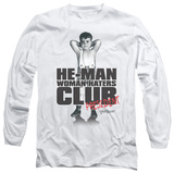 Long Sleeve: Little Rascals - Club President T-shirts