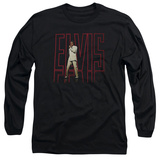 Long Sleeve: Elvis Presley - Elvis 68 Album Shirt