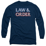 Long Sleeve: Law & Order - Logo T-shirts
