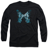 Long Sleeve: Fringe - Butterfly Glyph T-Shirt