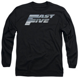 Long Sleeve: Fast Five - Logo T-shirts