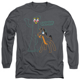 Long Sleeve: Gumby - Outlines T-Shirt