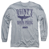 Long Sleeve: Jaws - Quints Shirts