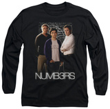 Long Sleeve: Numb3Rs - Equations T-shirts