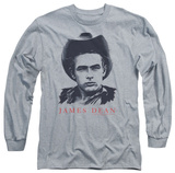 Long Sleeve: James Dean - New Cowboy T-shirts
